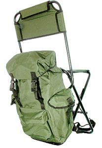 рюкзак со стульчиком рыбацкий