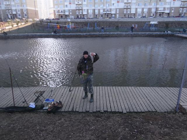 рыбалка на совхозной улице