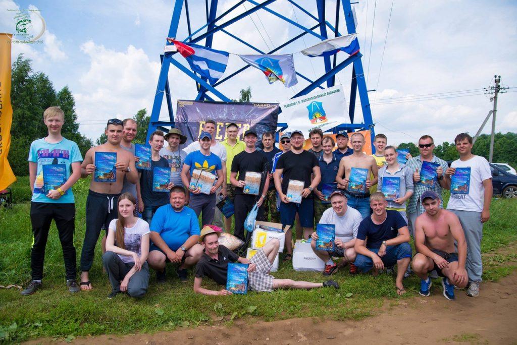 соревнования на реке Пехорка
